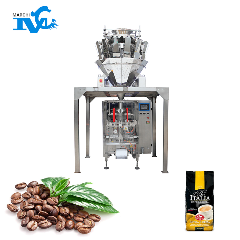 Particle vertical packaging machine