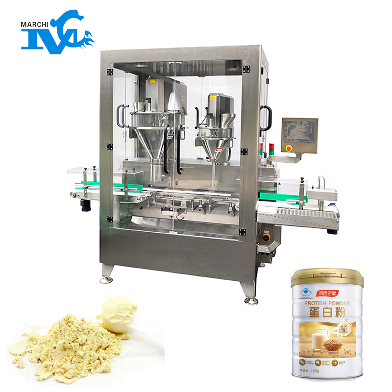Canning powder filling machine