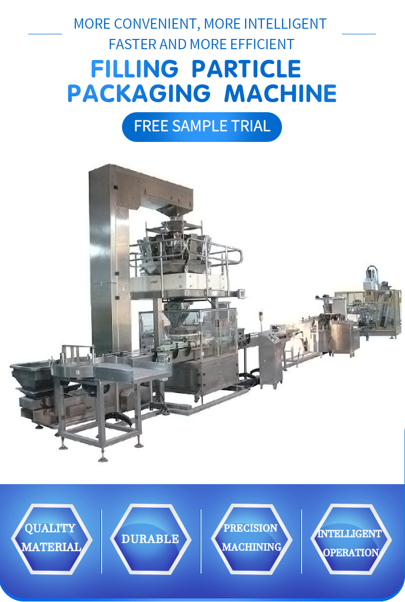 Canning granule packing machine